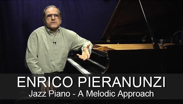 Enrico Pieranunzi Jazz Piano Melodic Approach Instructional Video Lesson